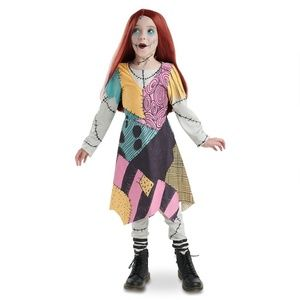 Disney Store SALLY SKELLINGTON Girls Costume NBC